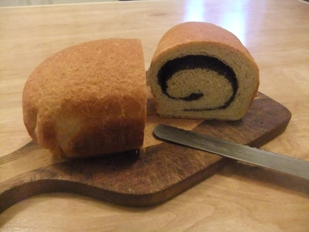 The Poppy Seed Spiral! Yum.