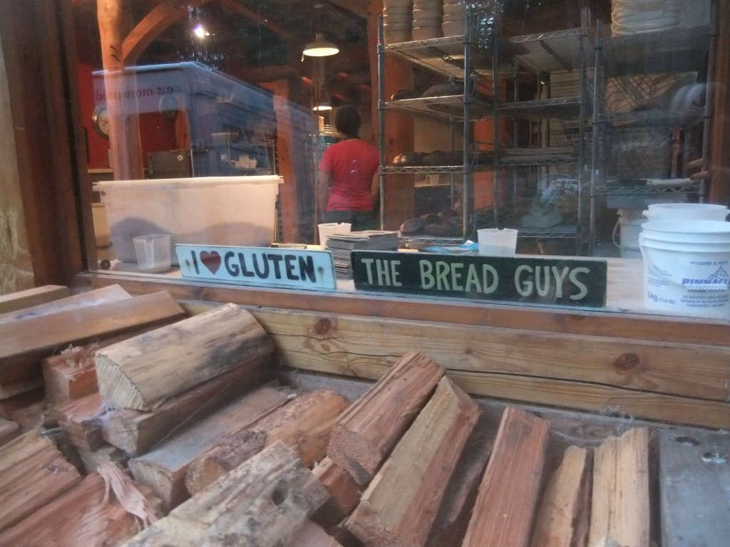 Some sign ideas from Slow Rise Bakery on Gabriola Island.