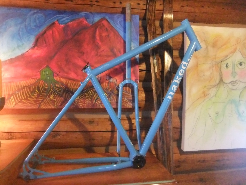 I've decided I'm not going to ride it, just display it along with other pieces of art.
