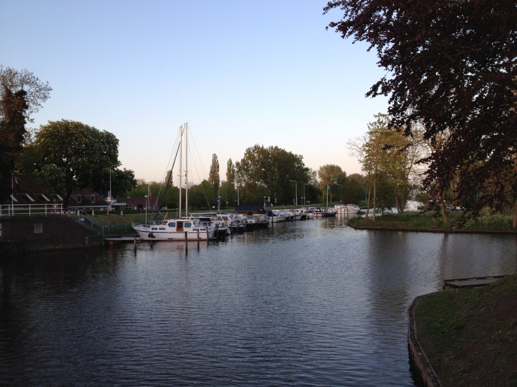 Downtown Dokkum.