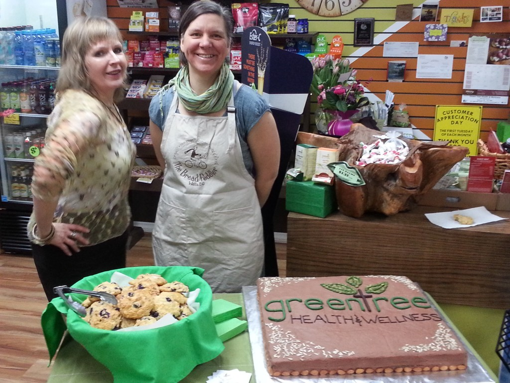 Kate and Marilyn at Green Tree Health & Wellness - Happy 8th Anniversary!