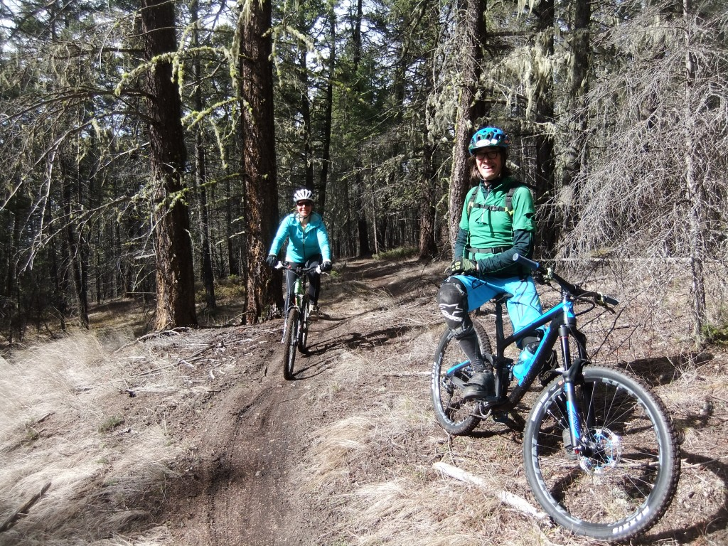 Mountain biking in Williams Lake with Tom - King of the trails!