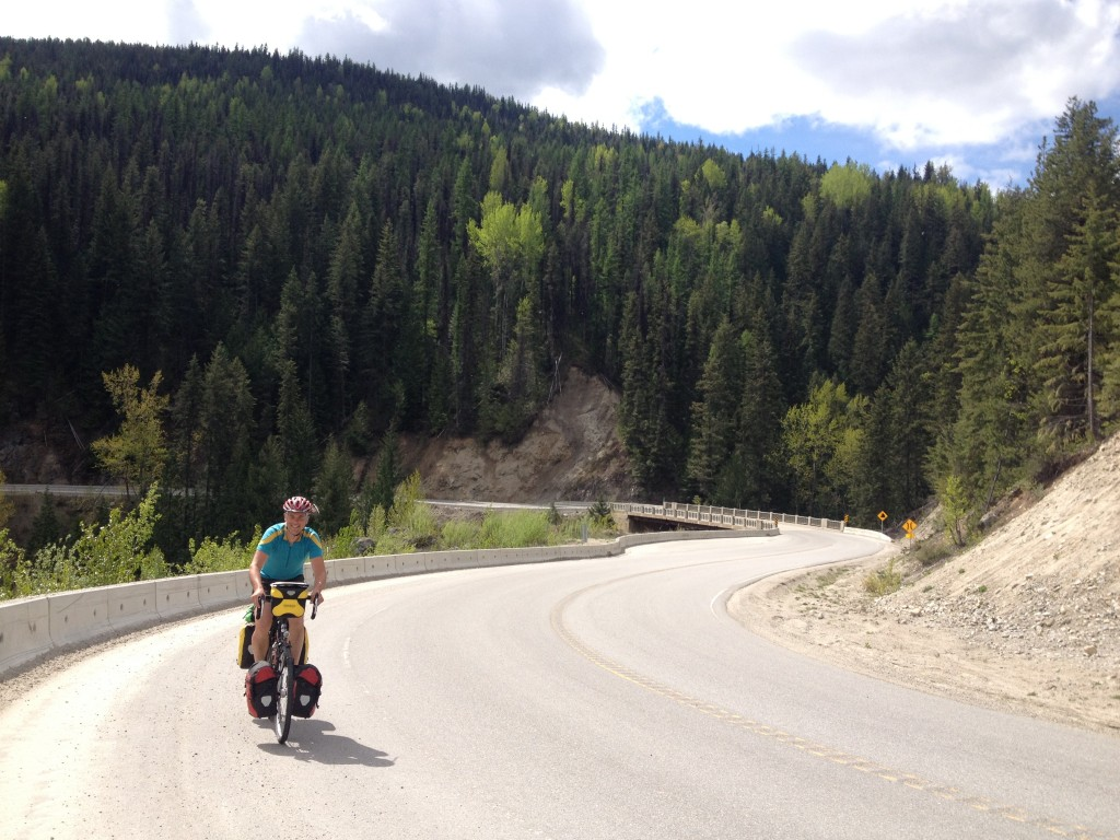 Another nice stretch of road between the Needles ferry across Kootenay Lake over the Monashee Pass to Cherryville.
