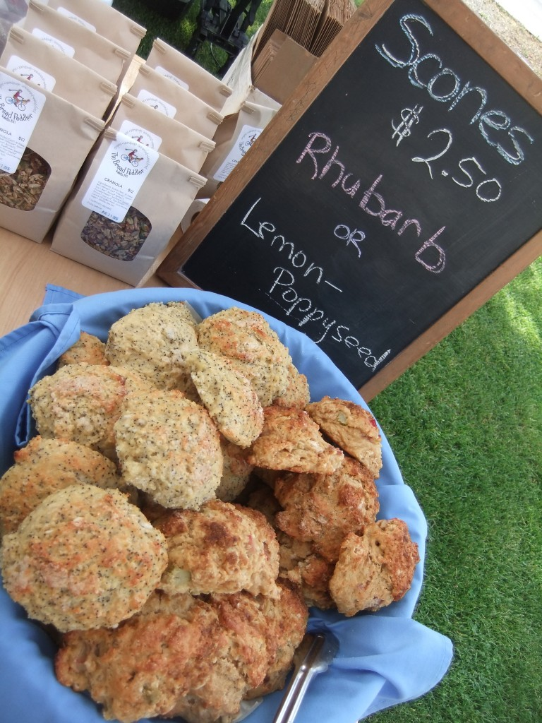 Scones and granola for sale!