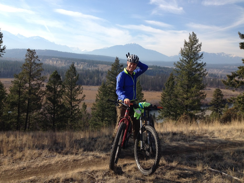 Mountain biking near Invermere. Fabulous trails!